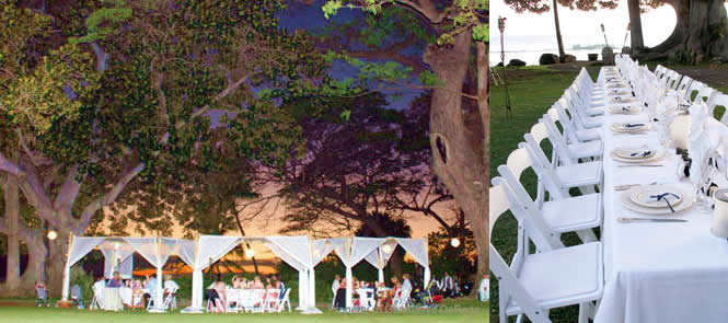 Maui Wedding Catering Options for Larger Weddings
